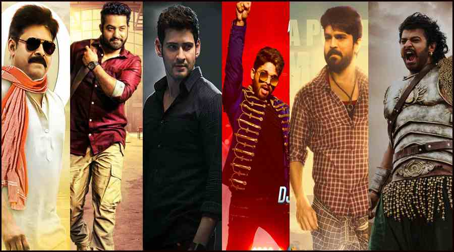 First Day Top 10 Share Movies IN AP TG