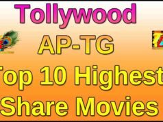 Tollywood AP-TG Top 10 Highest Share Movies