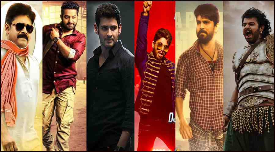 Tollywood Most Followed Hero's in Social Media(FaceBook-Instagram-Twitter)